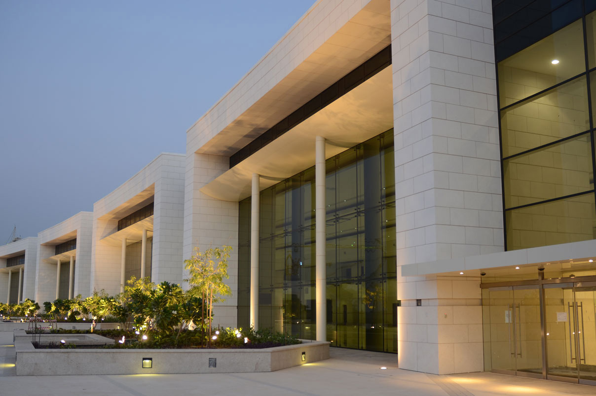 Oman Convention And Exhibition Centre Lighting Design Visual Energy