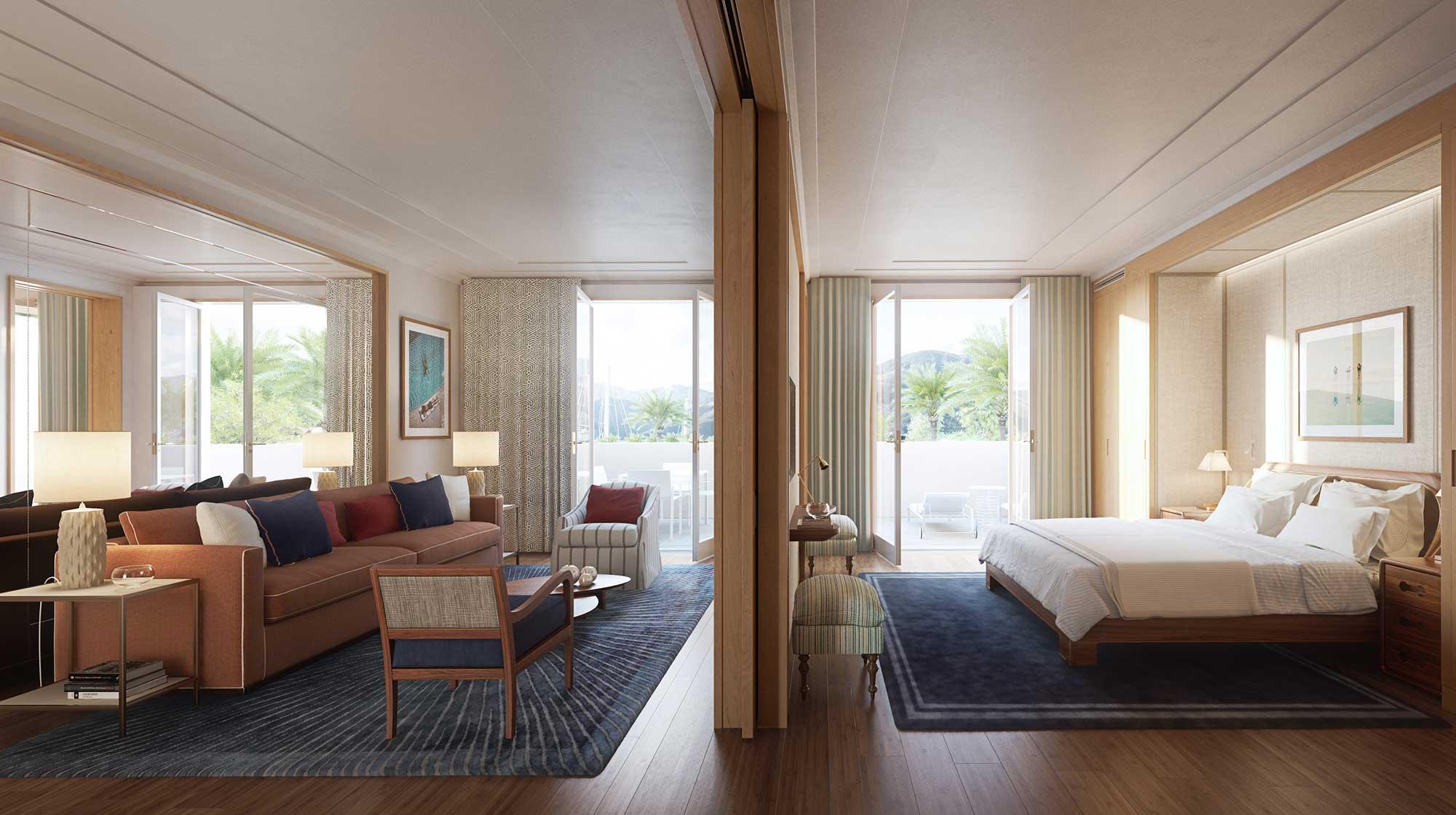 Regent porto montenegro hotel and residences lighting for Porto design hotel
