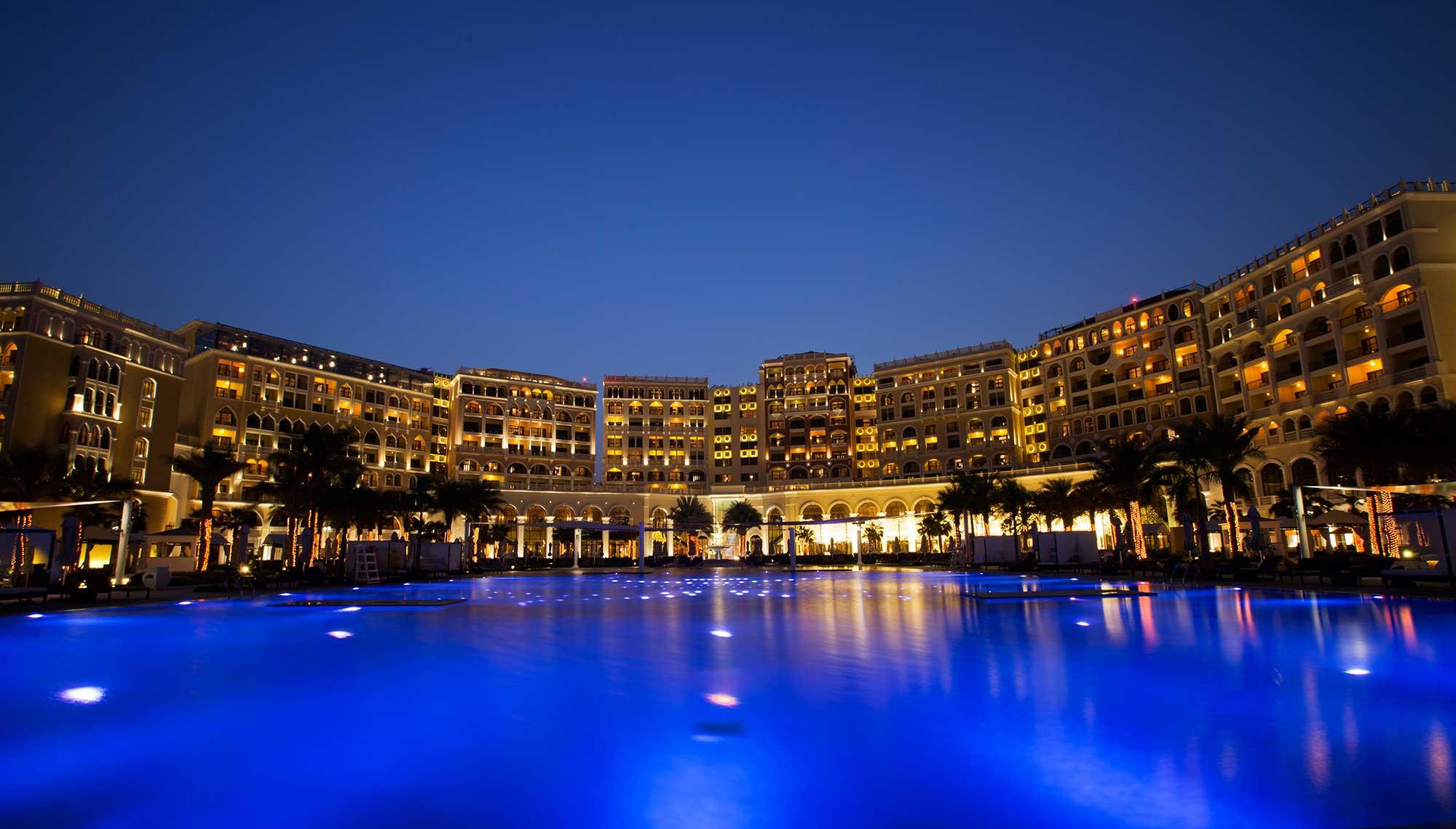 The Ritz Carlton Abu Dhabi Lighting Design Visual Energy