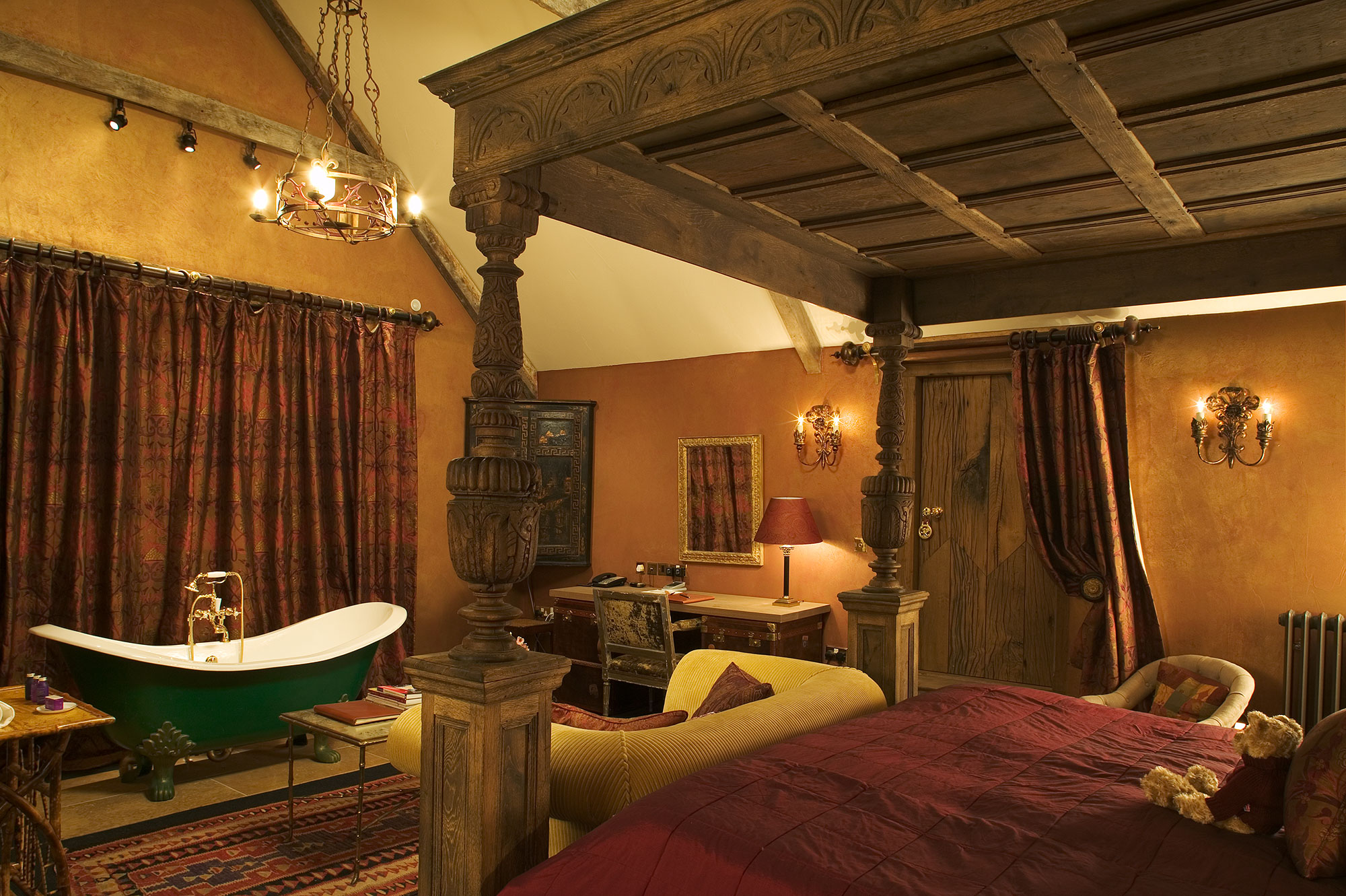 Charlton House Boutique Hotel Amp Spa England Lighting
