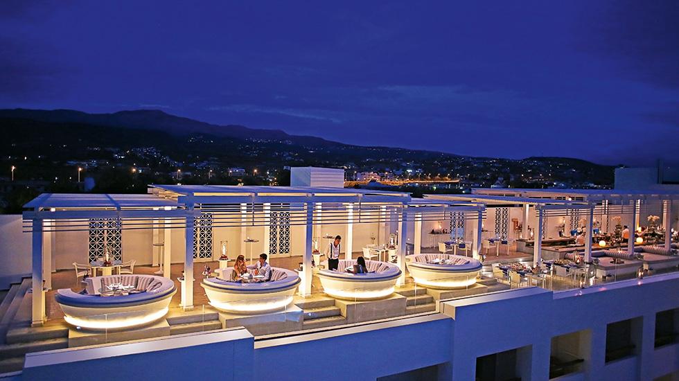 Creta Palace Hotel Rethymnon Crete Lighting Design