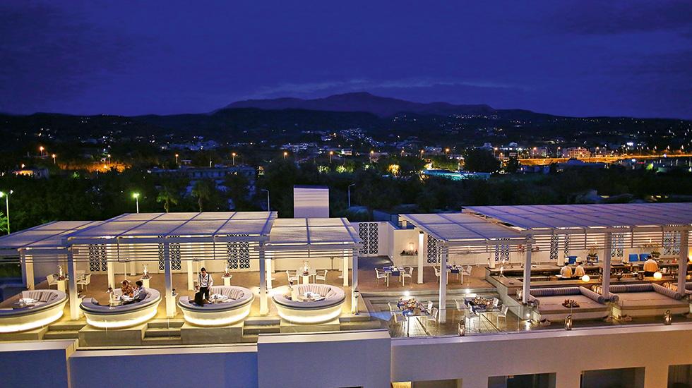 Creta palace hotel rethymnon crete lighting design for Design hotel crete