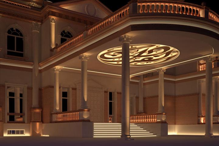 Residential lighting design visual energy